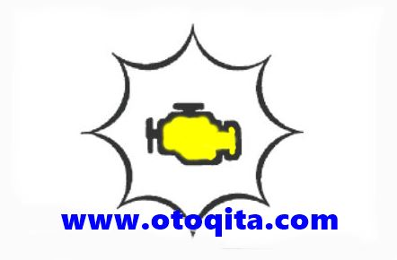 Lampu check engine mobil