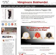 Bokhandelns webbsida