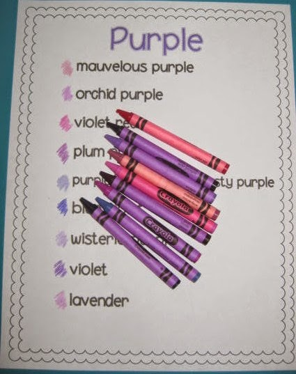 Second grade sweetie pies the writing table the color for Together dictionary