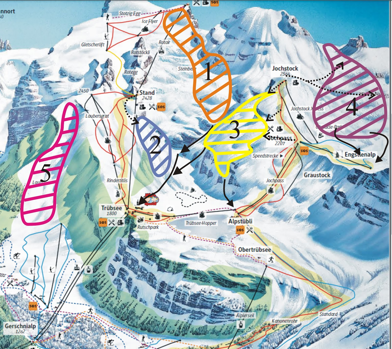 Franks ski resort reviews and other stuff Engelberg