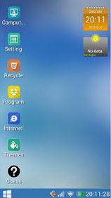 Cara mudah merubah tampilan Android menjadi seperti Windows di PC/Komputer 1 - Drio AC, Dokter Android