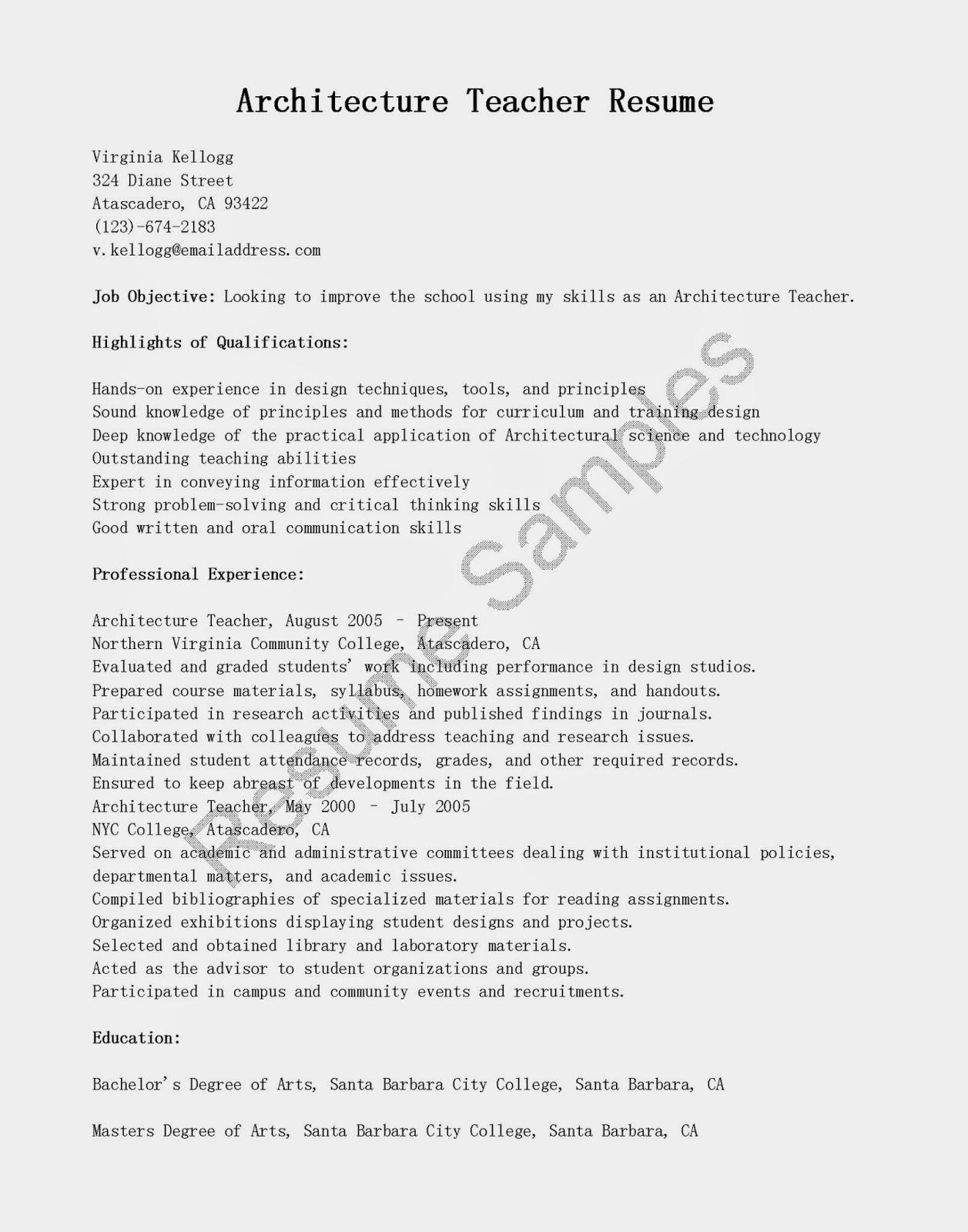 higher education resume sles pictures to pin on