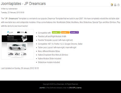 Joomla car Themes