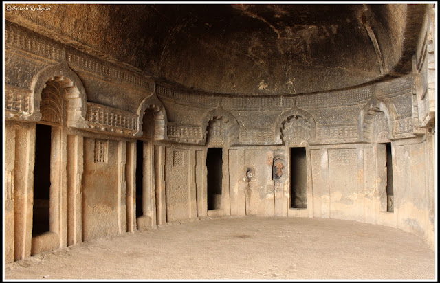 Rooms at Vihara in Bedse Cave
