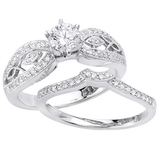 diamond wedding rings for women photo
