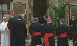 Papa Francisco aos Cardeais: Não ceder ao pessimismo
