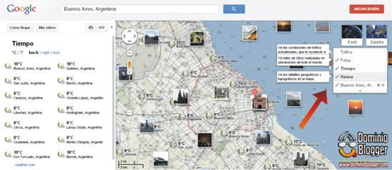 Como colocar Google Maps en Blogger - Paso 2