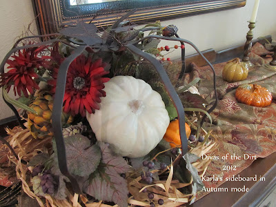 Divasofthedirt, Karlas autumn decor