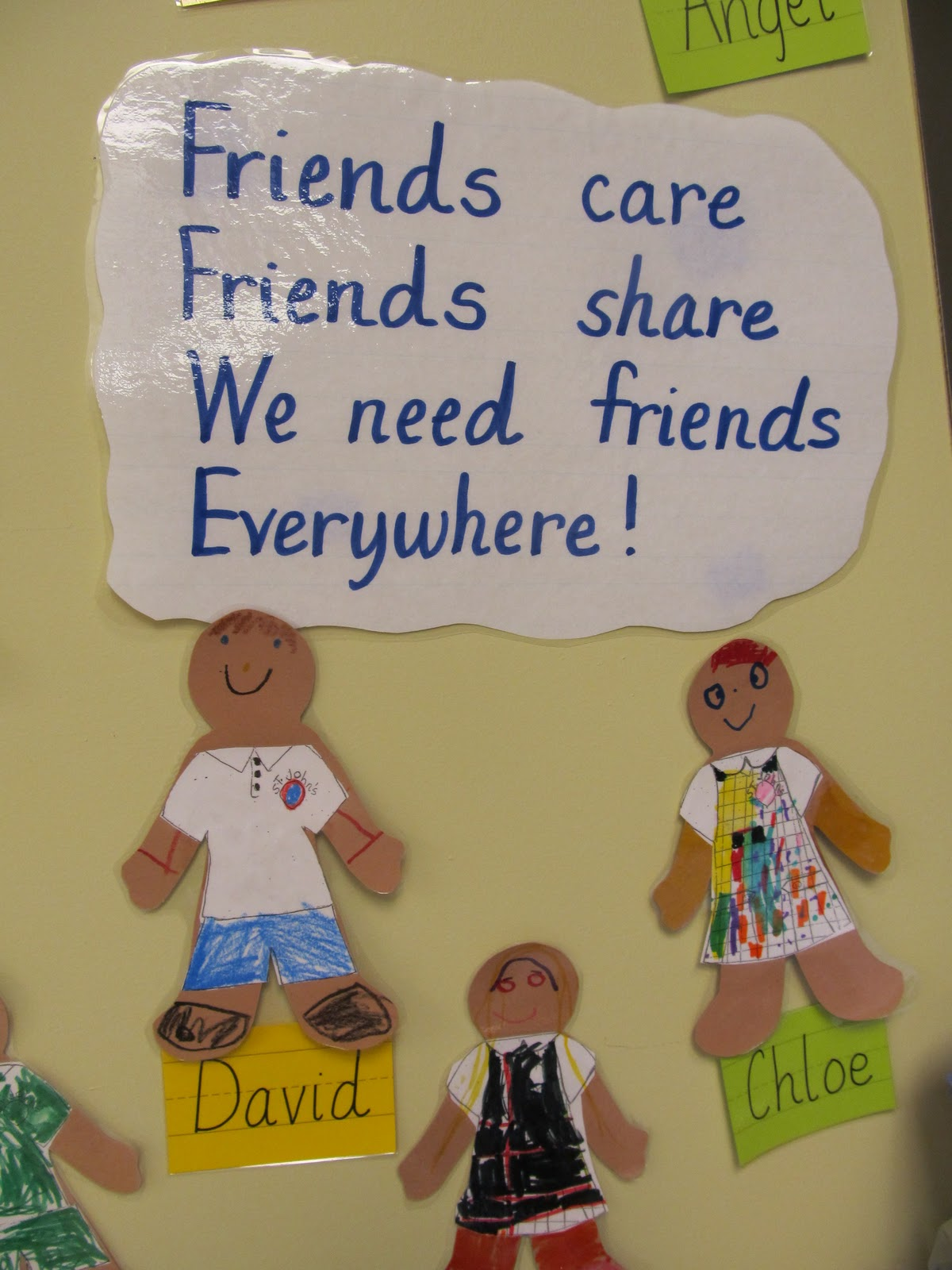 Friendship Quotes For Kindergarten : Parent bulletin boards ideas for fun trend home design