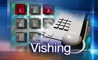Vishing, a phishing attack over VoIP protocol Vishing