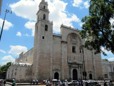 Catedral San Ildefonso, Merida, Yucatan