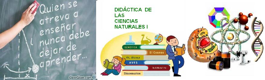 DIDCTICA DE LAS CIENCIAS NATURALES