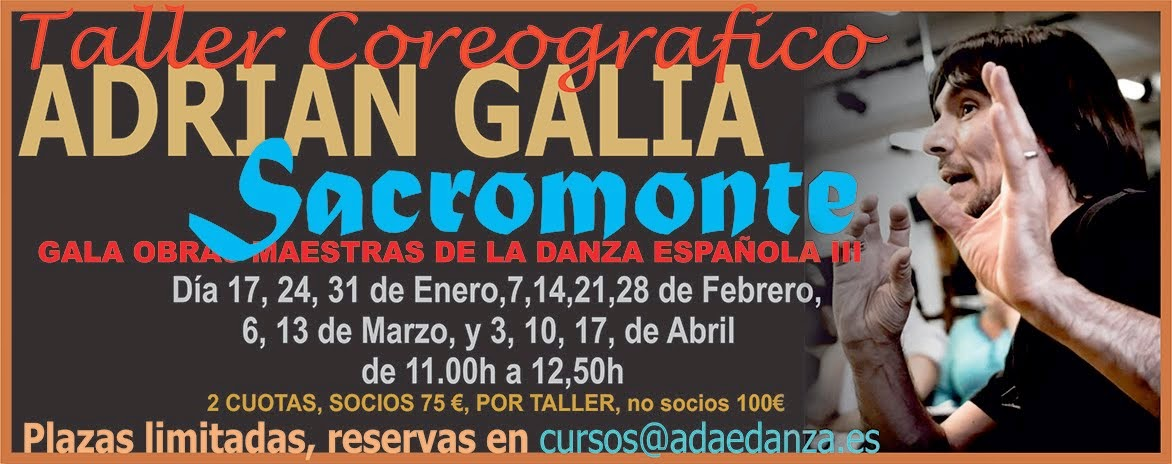 SACROMONTE - ADRIAN GALIA.
