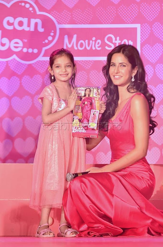 Katrina kaif launches barby doll photos unseen pics