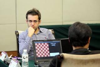 Le joueur arménien Levon Aronian © site officiel