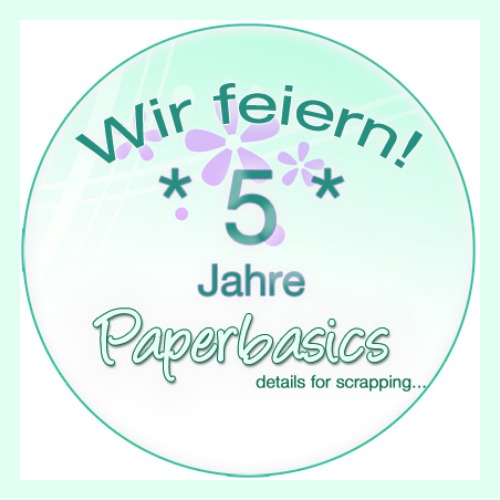 Papierbasics is celebrating its 5th birthday!