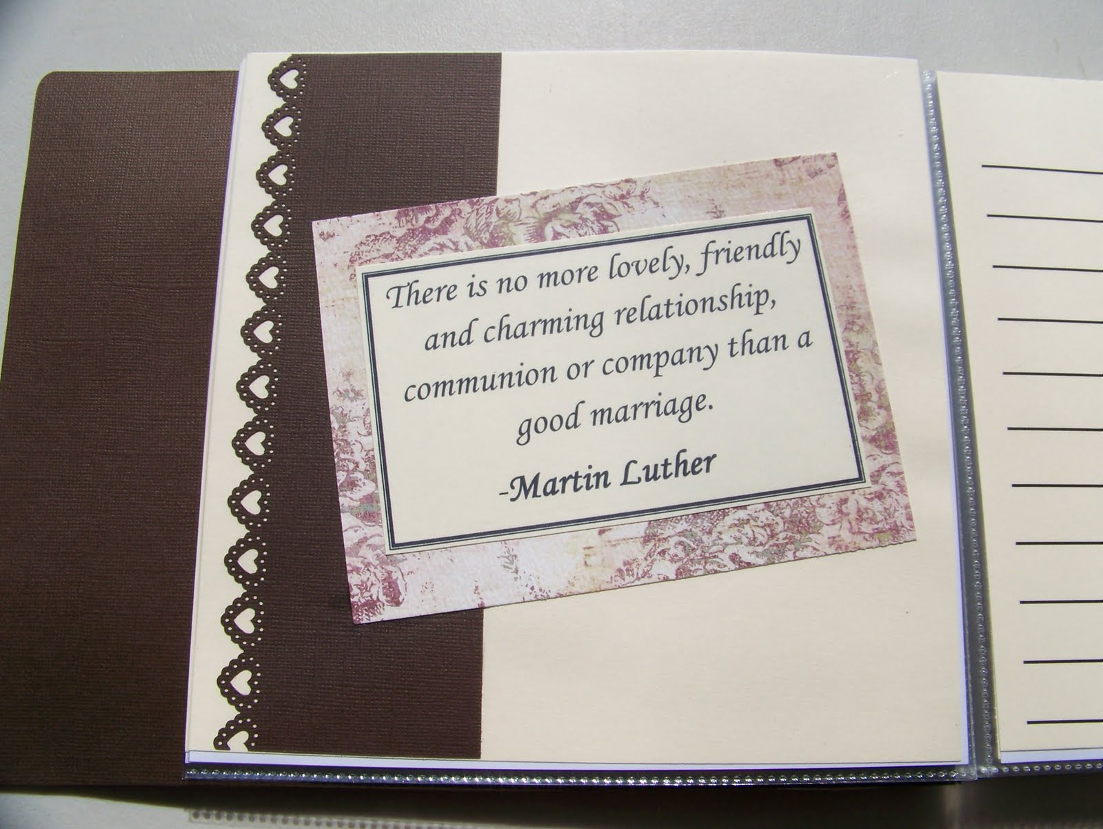 Quotes On Wedding Gift : There are 6 pages that I used these quotes.