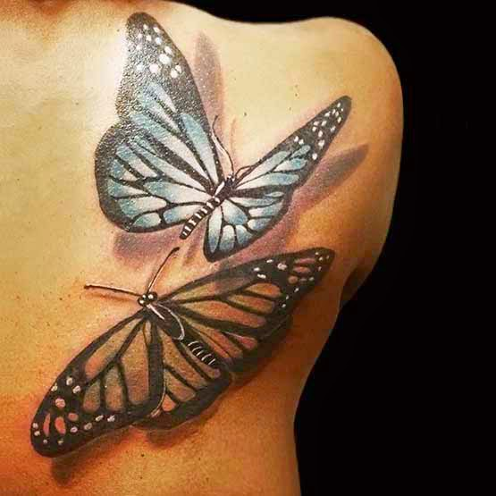Butterfly Tattoo 3d