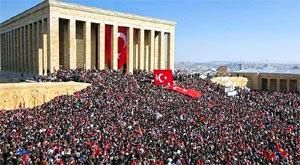 10 Kasım törenleri Anıtkabir Atatürk