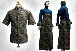 Dress Batik Solo Terbaru Motif Indah 2014 Model Baju 2012
