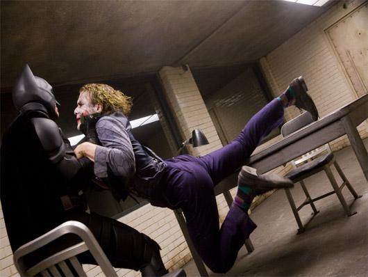El interrogatorio de 'El Caballero Oscuro' mostrado en imágenes