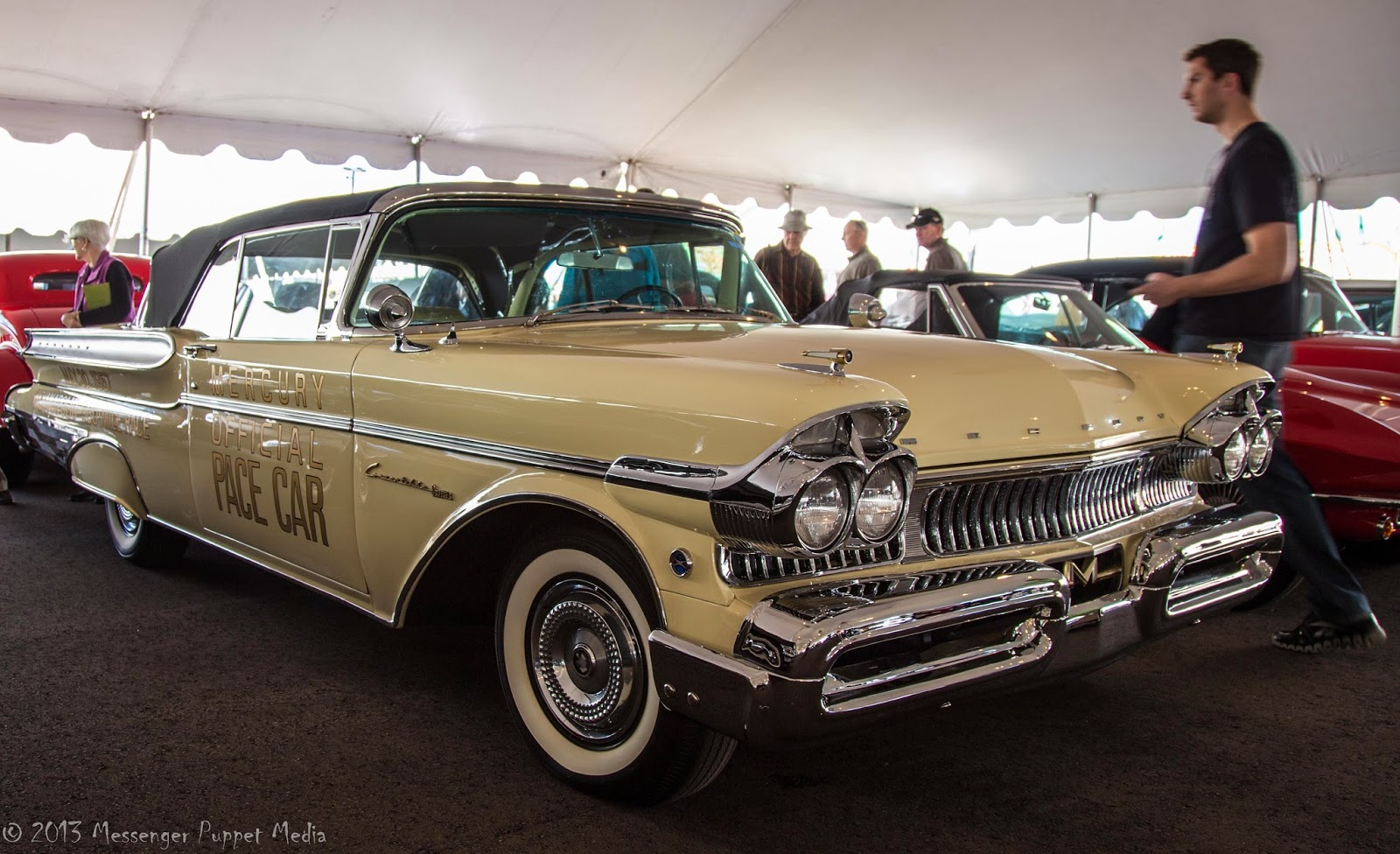 1957 MERCURY TURNPIKE CRUISER CONVERTIBLE