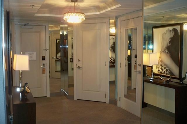 The hopeful traveler enter the wraparound terrace suite for Terrace suite cosmopolitan