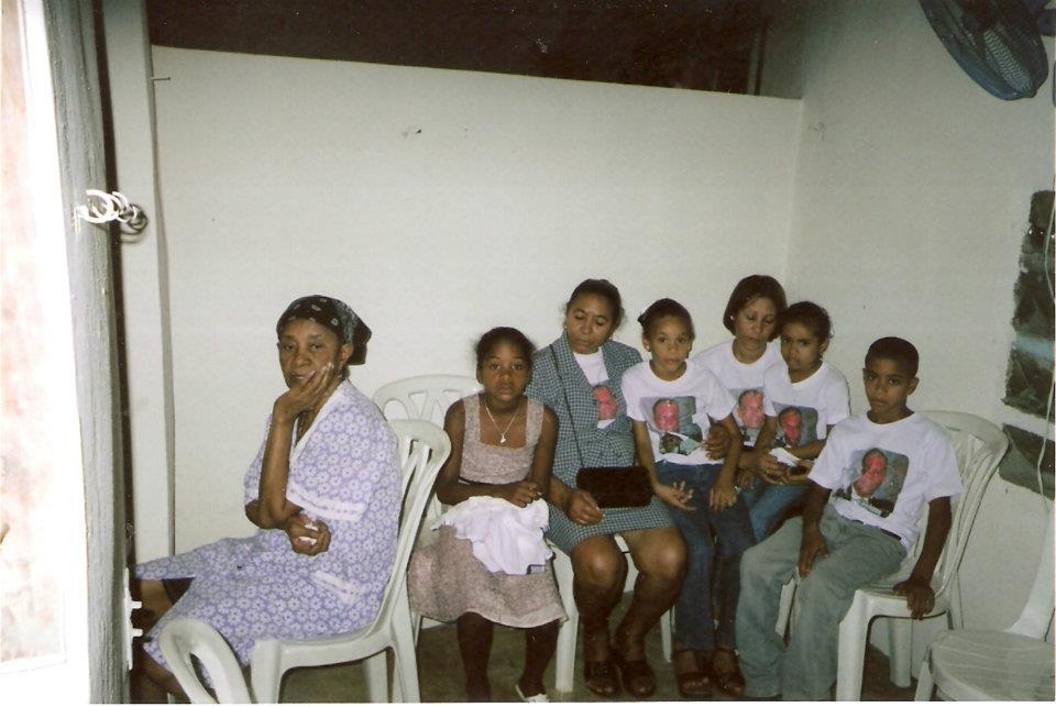 Amantina y nietos