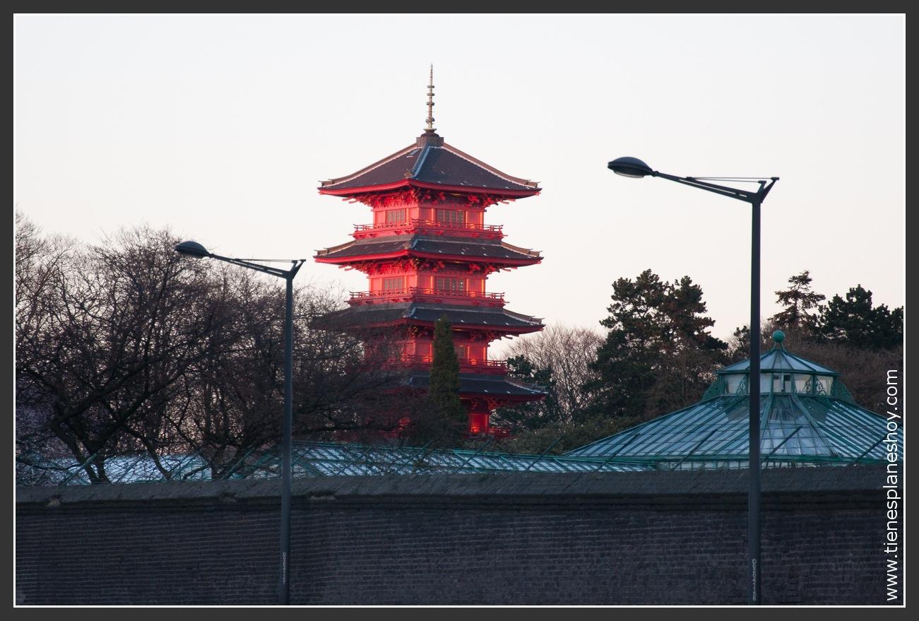 Torre Japonesa Bruselas
