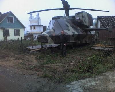 casa helicóptero helicopter house