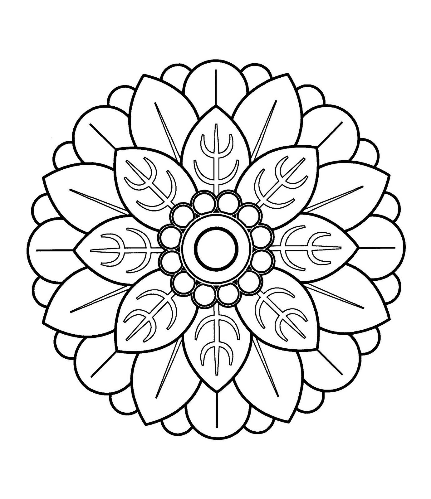 Easy Mandala Designs