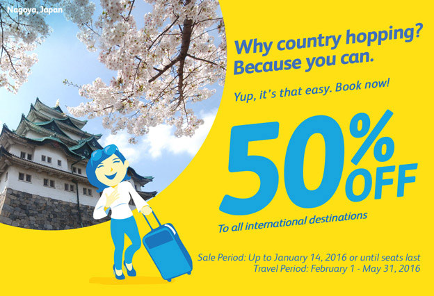 Cebu Pacific International Flights 2016