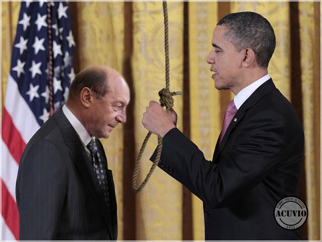 Barack Obama Traian Basescu funny photo Reset