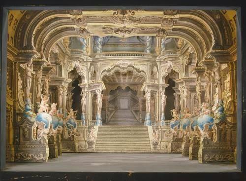 Debat art figuration peinture architecture et th tre for Decor de theatre