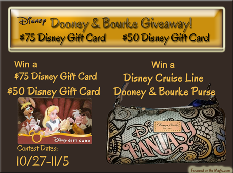 Disney Dooney Bourke Giveaway Disney Gift Card Contest Focused on the Magic
