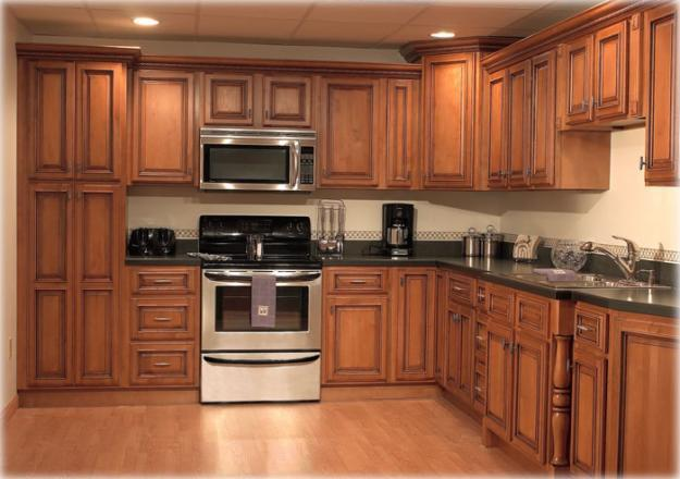 designs latest.: Homes modern wooden kitchen cabinets designs ideas