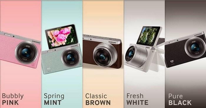 Harga dan Spesifikasi  Kamera Samsung NX Mini - 20.5 MP