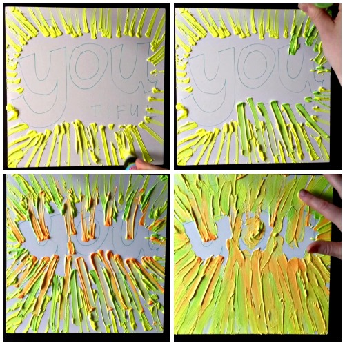 How to make easy wall art with Poster Puffy