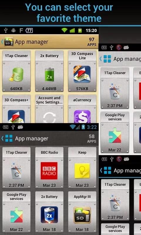 AppMgr Pro III (App 2 SD) v3.27