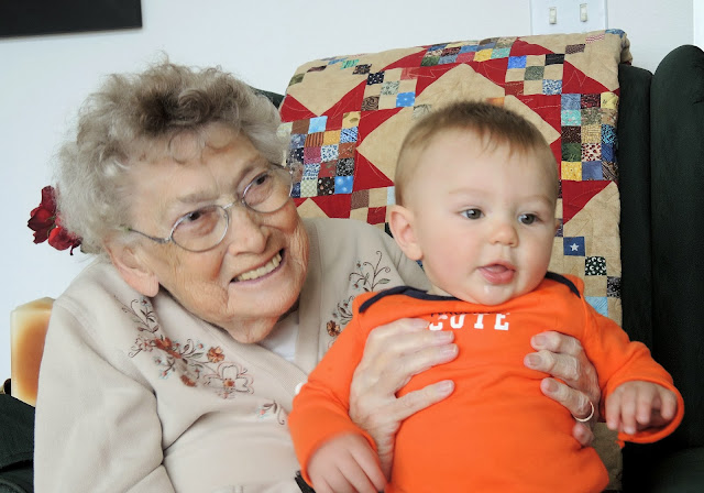 Carter and his great great grandmother