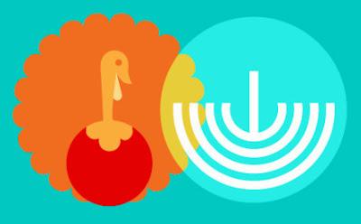 Thanksgivukkah holiday celebration