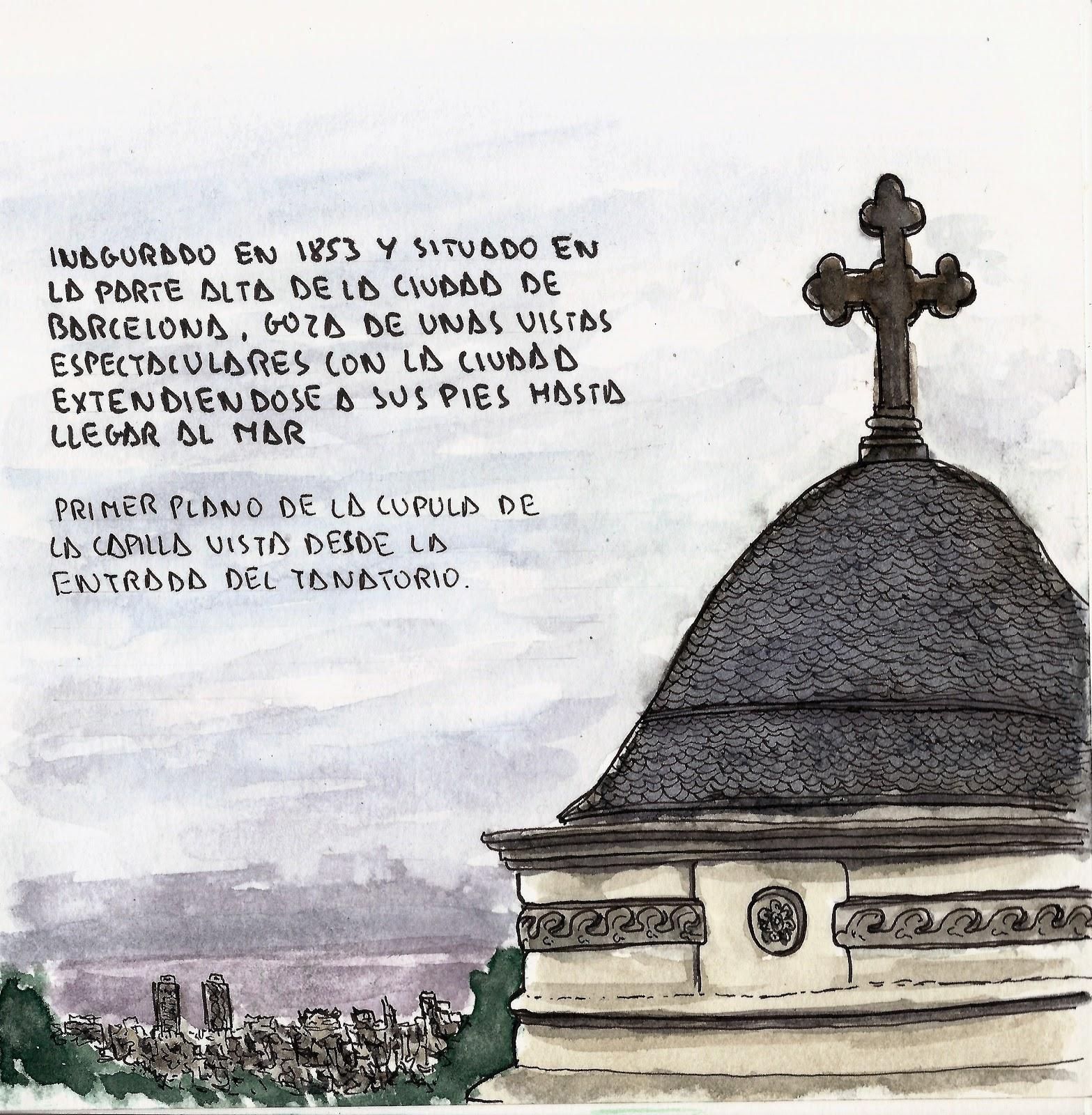 De dibujo en dibujo cementeri de sant gervasi - Tanatorio sant gervasi ...