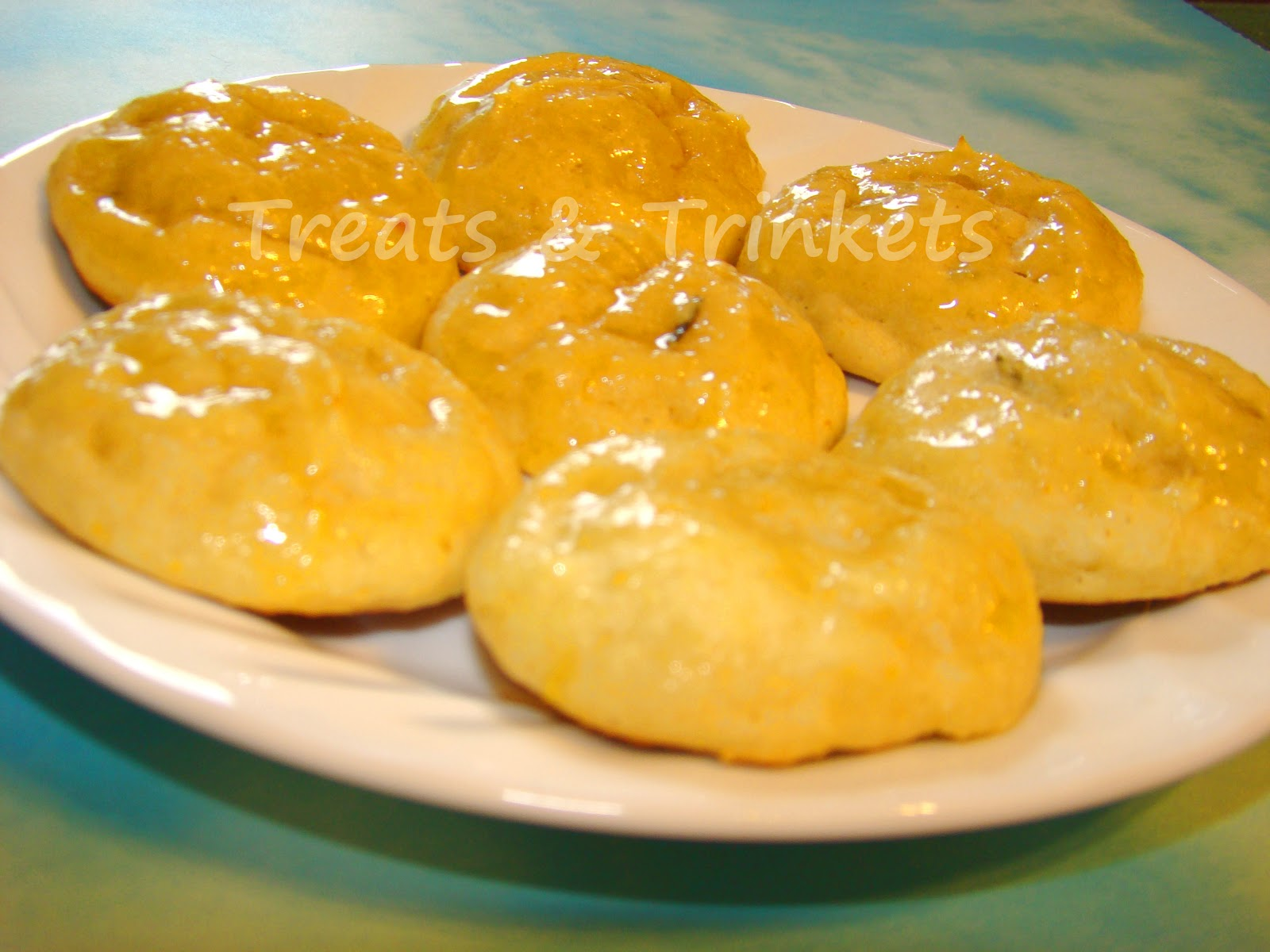 Treats & Trinkets: Gluten Free Orange Rosemary Ricotta Cookies