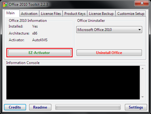 office 2010 activator.exe