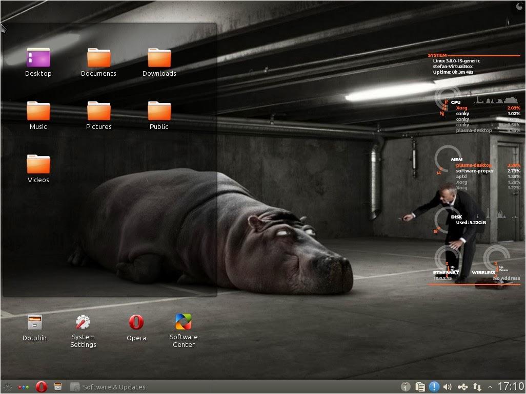 makulu kde desktop