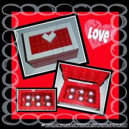 A LEGO Valentine Creation Idea and a series on love from 1 Corinthians 13