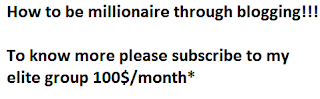 How to be millionaire explained