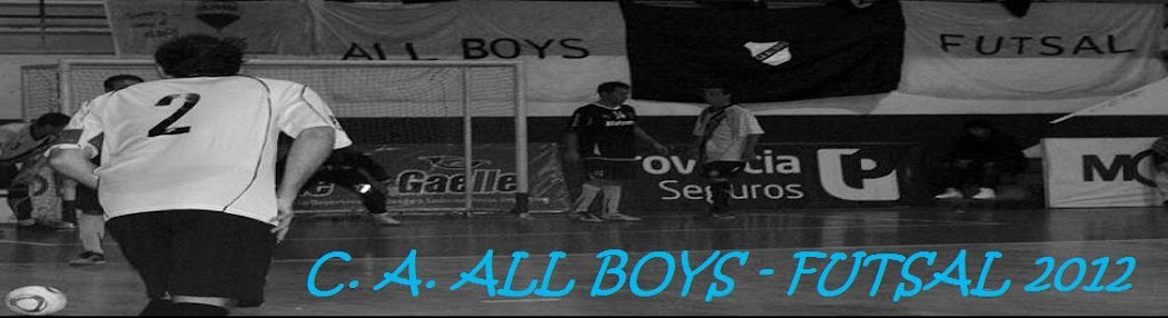 * C. A. ALL BOYS - FUTSAL 2012 *