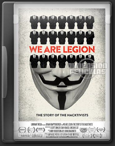 We Are Legion: The Story of the Hacktivists (DVDRip Ingles Subtitulado) (2012)