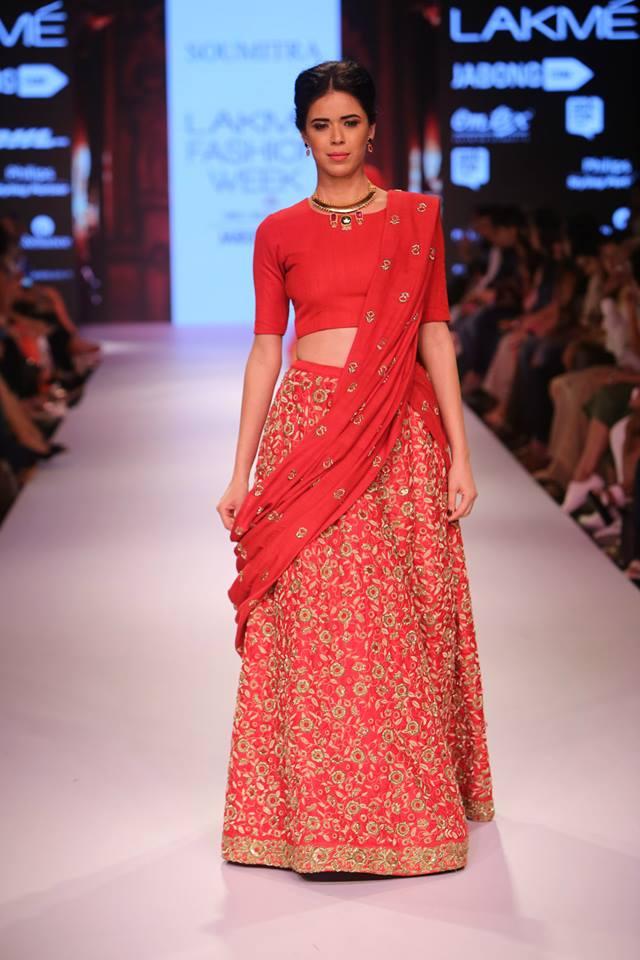 Krishna Mehta Lakmé Fashion week a/w 2015